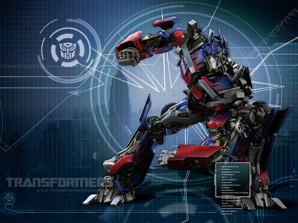 Download Transformers Movie Wallpaper : 404 Creative Studios
