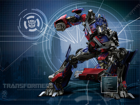 Optimus Prime Movie Wallpaper